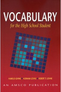 Depending On Their Vocabulary Level Many Of My Students In 8th 10th Grades Use Vocabulary For The High School Student Vhss Which Organizes Words Into